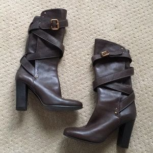 Chloé wrap around boots WORN ONCE